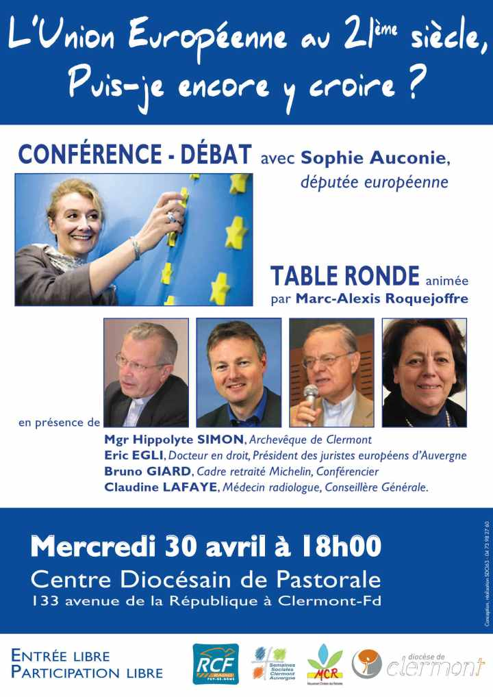 affiche Europe semaines sociales