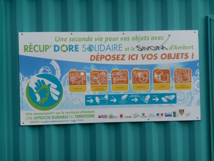 Une solidarité efficace pour tous : 12 tonnes déjà récupérées qui n'iront pas à Clermont !