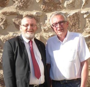Daniel Barrier et Michel Sauvade