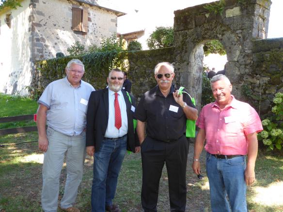 Ruralitic 2015. Georges MORISSON, Michel SAUVADE, Jean-Marie HERNANDEZ et Maurice BERAUD, des projets numériques pleins la tête